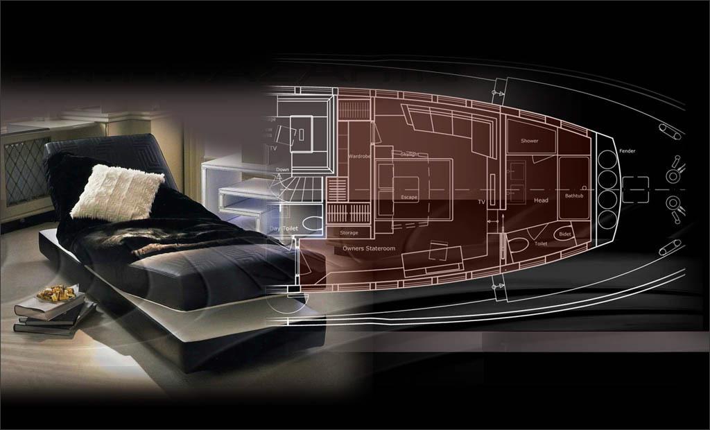 38m Sport Tiranian Yachts Interior Proposal13