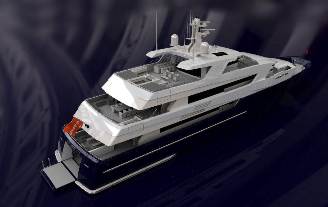 47.5m Capacity Motoryacht