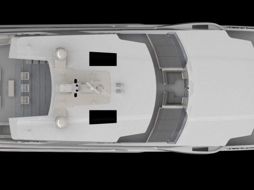 47.5m Capacity Megayacht