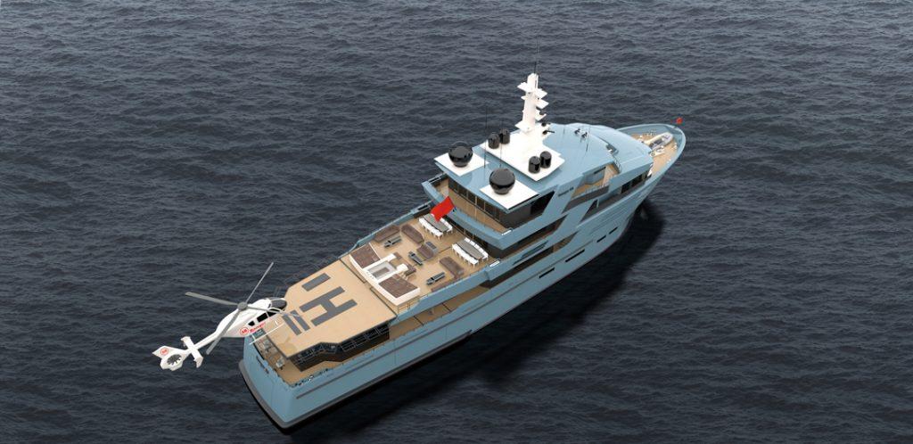 58m Ranger Explorer Yacht