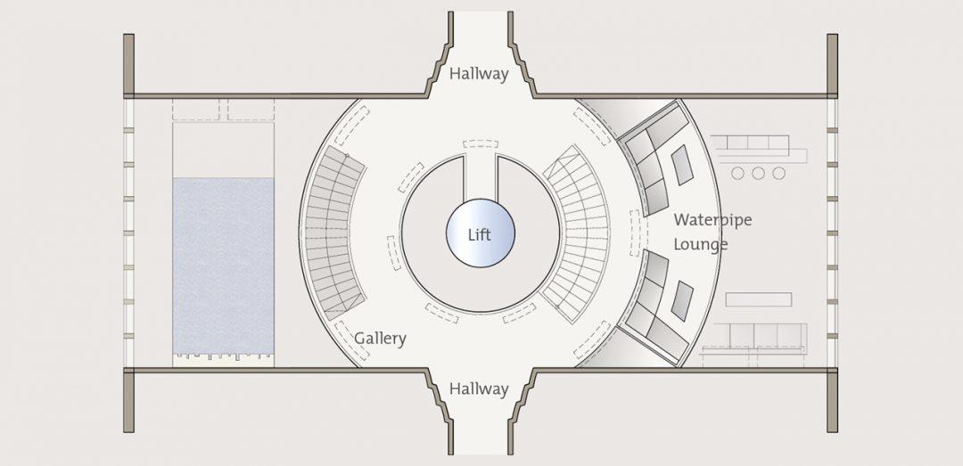 123m Aphelion Megayacht Interior Proposal