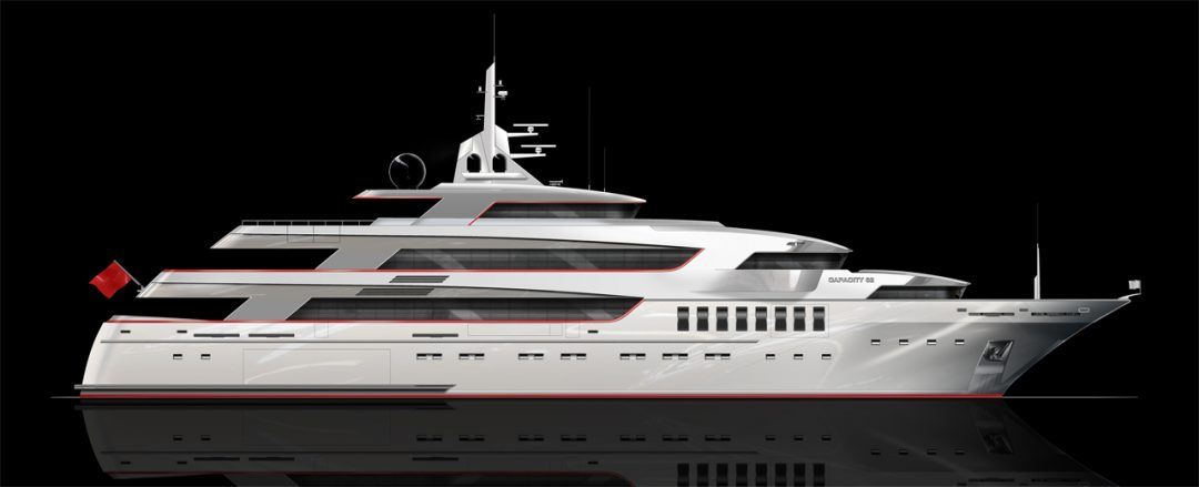 62m Capacity Megayacht
