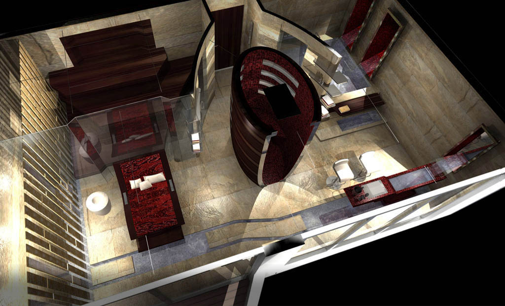 86m Explorer Megayacht Interior Proposal