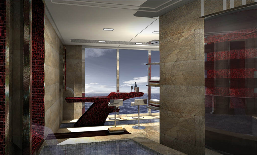 86m Explorer Megayacht Interior Proposal